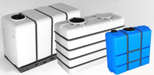 Емкости для воды K синие от производителя baki.spb.ru