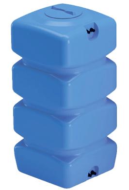 Емкости для воды Quadro W синие от производителя baki.spb.ru