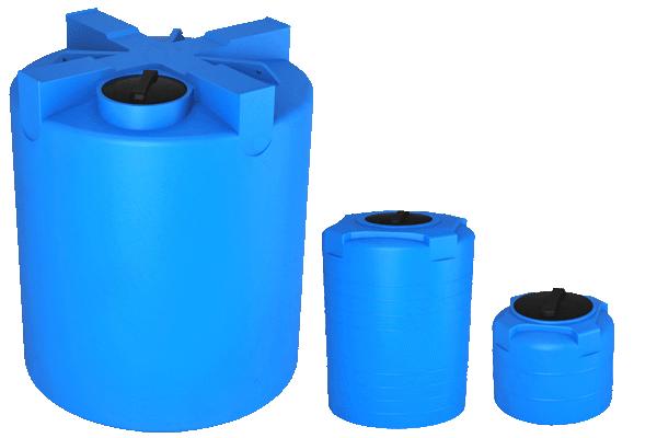 Емкости для воды Т синие от производителя baki.spb.ru